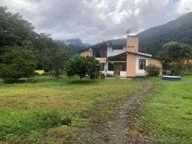 En venta casa con 2 hectáreas de terreno