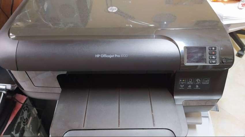 HP Officejet Pro 8100 0