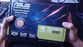 EXCELENTE PLACA DE VIDEO ASUS GT 1030 2 GB GAMER + Envio Gratis