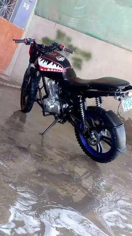 Vendo moto FORTE motor nuevo