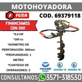 MOTOHOYADORA 5.5 HP 150CC 300MM DIAM 100CM PROF