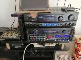 Gangazo de equipo de sonido