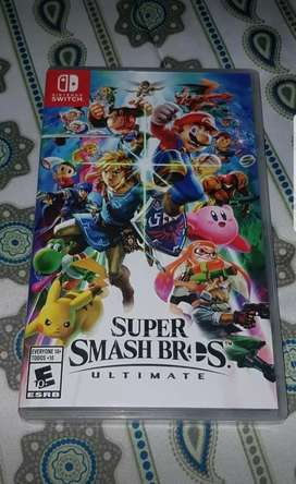 Juego Super smash bros ultimate nintendo switch