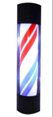 Poste Barbería Peluquería 58cm Lámpara Giratoria
