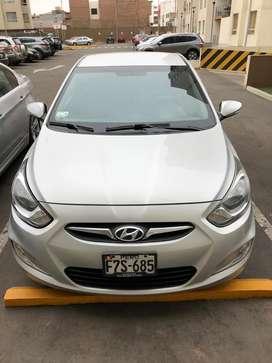 Vendo Hyundai Accent 2014 por Viaje