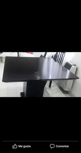 Mesa cuadrada de 1,10