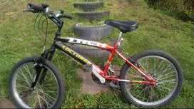 Vendo bicicleta de tamaño mediana