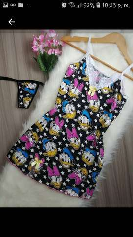 Lindas pijamas para dama niños y niñas