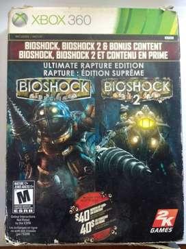 Colección de Bioshock Xbox 360/Xbox One