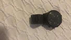 Reloj negro michael kors
