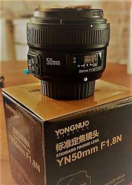 Lente Yongnuo 50mm para Nikon