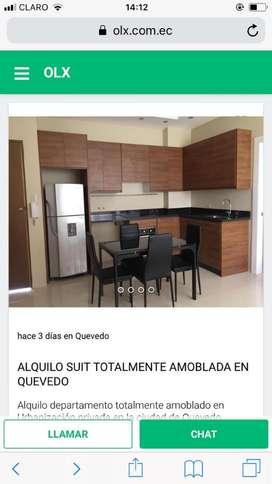 Alquilo Suit Amoblada