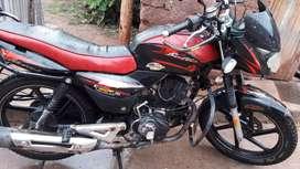 Moto linial bajaj 150