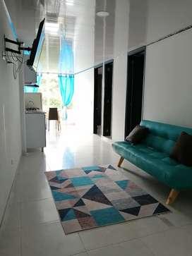 Alquilo lindo apartamento por días. Ubicado en el centro de Acacias Meta. Totalmente amoblado y cerca al malecón turísti