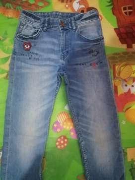 jeans para niños originales perfecto estado hym y Carters