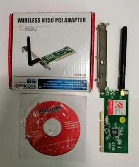 Tarjeta inalámbrica PCI Encore Wireless N150