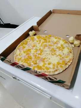 Pizzera o pizzero con experiencia