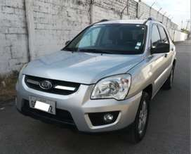 KIA Sportage Active EX 2L SUV 4x2 T/A A/A AB full 2012 UNICO DUEÑO OLX AUTOS GUAYAQUIL