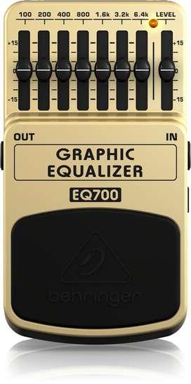 Ecualizador de pedal GRAPHIC EQUALIZER EQ700... Nuevecito!!!