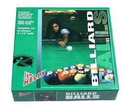bolas pool pull billar estandar nuevas envio colombiahalen2005