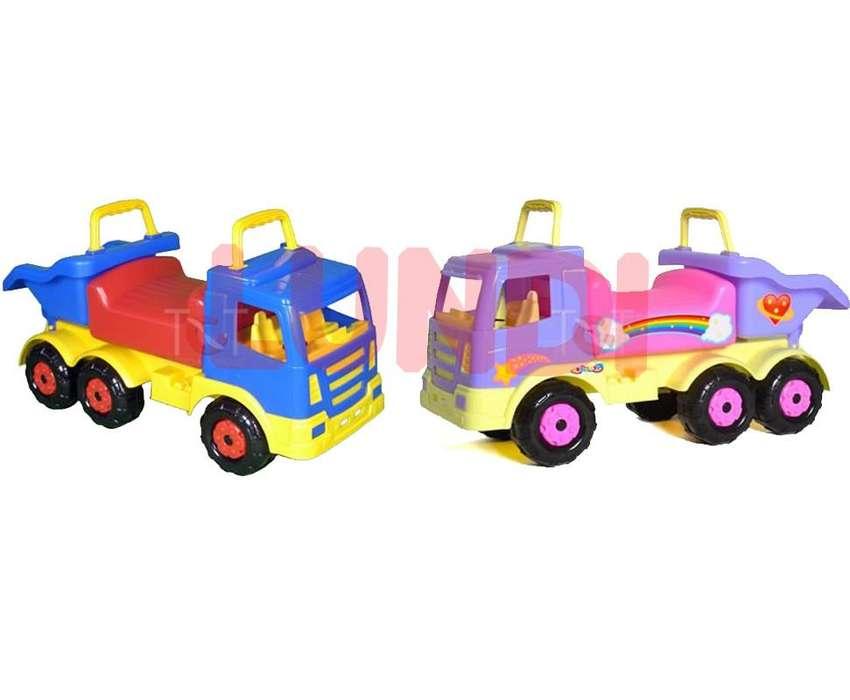 Carro Montable Truck Boy Toys Juguete Niños Silla Abatible 0