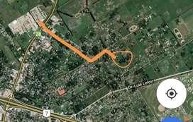Lote a 1,5 kms de acceso oeste. Gral Rodríguez
