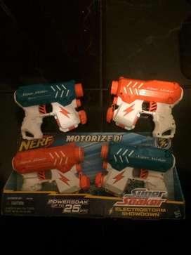 Pistolas de agua electrica Nerf Super Soaker