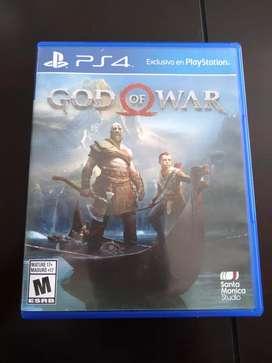 Vendo god of war 4 ps4