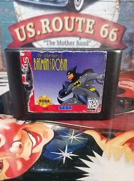 Vendo Video Juego Original Genuino Batman y Robin The Adventures para Consola Sega Genesis Usado