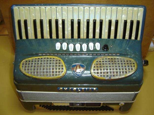 acordeon 120 excelsior 3ra con musette sonido espectacular 0