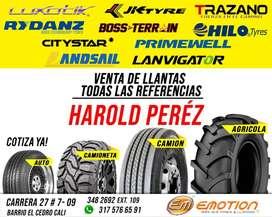 LLANTAS EN CALI-VALLE DEL CAUCA Y TODO COLOMBIA