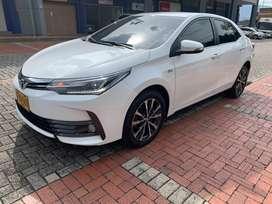 Toyota Corolla SEG automatico modelo 2019, 1.8 cc, gasolina,version full equipo!