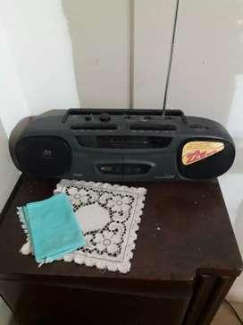 Radio casetera