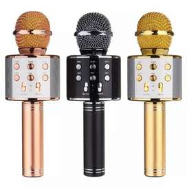 Micrófono recargable