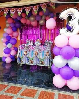 Recreaciónes, fiestas infantiles, animadores, cumpleaños, baby shower, decoración.