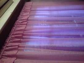 Romantica cortina para dormitorio
