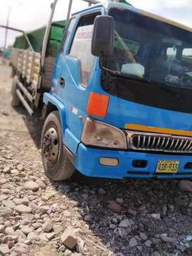 Camion JAC 8 toneladas con motor mitsubishi en buen estado , listo para trabajar y viajar.