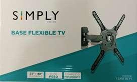 Excelentes bases de tv  nuevos simply
