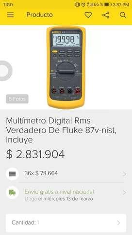 Multimetro Digital Fluke Serie 87v