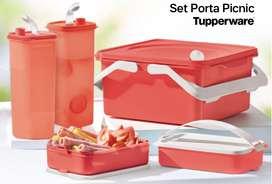 Set Porta Picnic - Tupperware