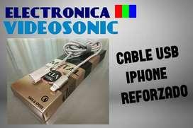 Cable USB para Iphone Reforzado!!! Tenemos Stock.