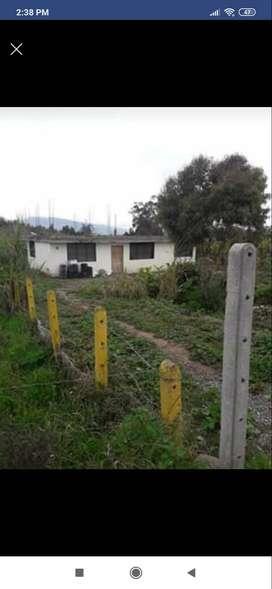Vendo terreno con casa de losa