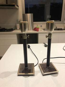 Veladores para mesa de luz