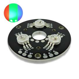 Módulo Led High Power 9w Rgb X 3 Leds Rgb De 3w