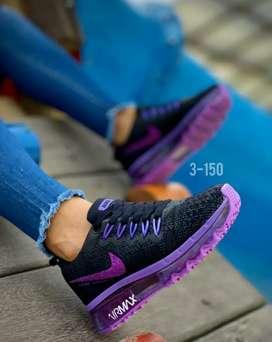 Zapato Tennis Deportivo Nike Airmax Plus Para Mujer