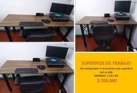 Venta de mobiliario por remodelación de oficina