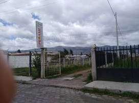 Terreno en Barrio Rumipamba Central Cantón Salcedo