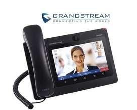 VIDEO TELEFONO IP GRANDSTREAM GXV3275 ANDROID 6 CUENTAS SIP, TOUCH GIGABIT POE