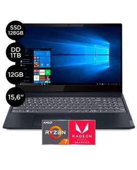 """Laptop IdeaPad S340 15.6"""" Ryzen 7 12GB RAM 1TB+128GB SSD - Full HD"""