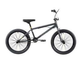 Bicicleta bmx Oxford spine aro 20 1v - negro y amarillo